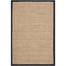 Safavieh Natural Fiber Casey 2' x 3' Seagrass Scatter Rug - Black
