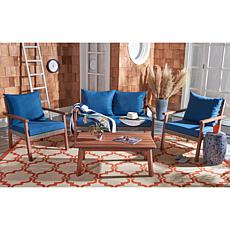Safavieh Reid 4-piece Outdoor Living Set