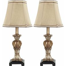 Safavieh Set of 2 Gold Mini Table Lamps