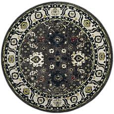 "Safavieh Vintage Hamadan Cadia Rug - 6'7"" x 6'7"" Round"