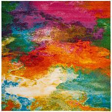"""Safavieh Watercolor Bree Rug - 6'7"""" x 6'7"""" Square"""