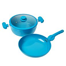 Safe-T-Grip 3-piece Ceramic Nonstick Cookware Set