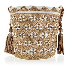 Sam Edelman Abela Beaded Bucket Bag