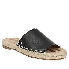 Sam Edelman Andy Leather Espadrille Slide Sandal