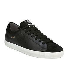 Sam Edelman Aubrie Lace-Up Leather Platform Sneaker