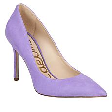 Sam Edelman Hazel Leather or Suede Pump