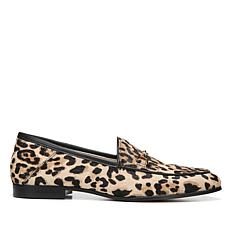 Sam Edelman Loraine Leather Loafer - Leopard