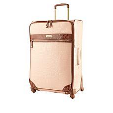 "Samantha Brown 30"" Spinner Croco Embossed Suitcase"