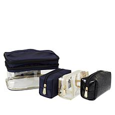 Samantha Brown Double Decker Cosmetic Case Set