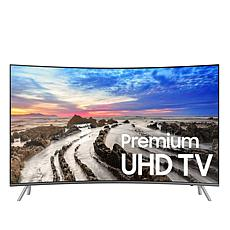 "Samsung 55"" MU8500 4K Ultra-HD LED Curved Smart TV with One Connect"