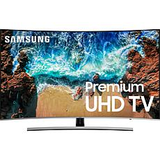 "Samsung 55"" NU8500 Curved 4K UHD Smart HDTV & Voice Assistant Remote"