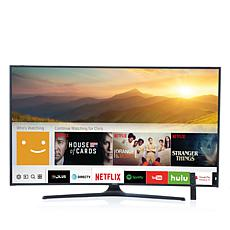 "Samsung 65"" 4K UHD Curved Smart TV with Smart Remote & 2-Year Warranty"
