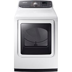 Samsung 7.4 Cu. Ft. Capacity Electric Dryer w/Multi-Steam Technolog...