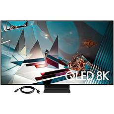 """Samsung 75"""" Q800T QLED 8K UHD HDR Smart TV with HDMI Cable"""