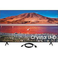 "Samsung 75"" TU7000 Crystal UHD 4K Smart TV with HDMI Cable"