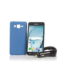 "Samsung Galaxy 5"" Android TracFone with Triple Minutes"