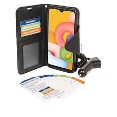 "Samsung Galaxy A01 5.7"" HD+ Tracfone w/1500 Min/Text/Data"