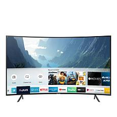 "Samsung NU7300 65"" Curved 4K UHD Smart HDTV with 2-Year Warranty"