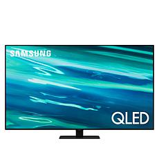 "Samsung Q80A 50"" QLED 4K UHD HDR Smart TV w/2-Year Warranty & Voucher"