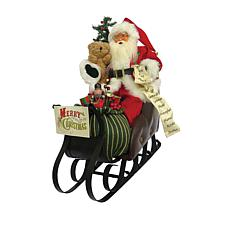 Santa's Workshop 20' Merry Christmas Sleigh Figurine