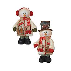 Santa's Workshop 20' Snowfolk Figurines