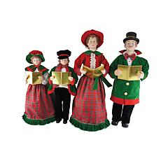 Santa's Workshop 27'-37' Christmas Day Caroler Figurines
