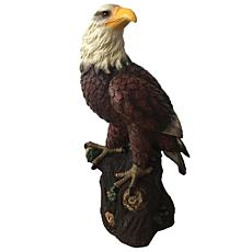 Santa's Workshop Bald Eagle Figurine