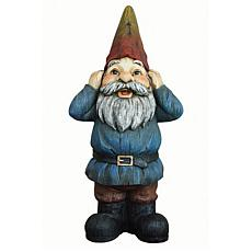Santa's Workshop Hear No Evil Gnome Statue