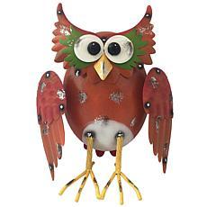 Santa's Workshop Iron Barn Owl