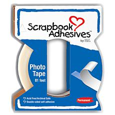 Scrapbook Adhesives Crafty Power Tape W/Dispenser - .25X81'