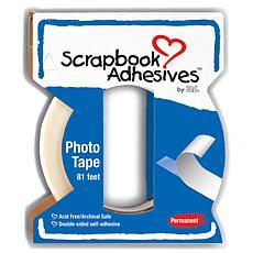 Scrapbook Adhesives Crafty Power Tape W/Dispenser - .25X81'