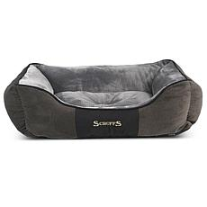 Scruffs Chester Box Dog Bed (Medium) - Graphite Grey