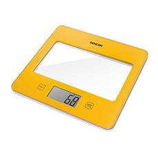 Sencor Kitchen Scale - Solid Yellow