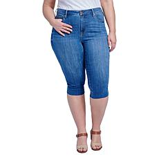 Seven7 High-Rise Breezy Skinny Crop Jean