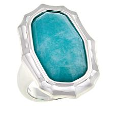 Sevilla Silver™ Amazonite Ring