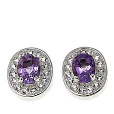 Sevilla Silver™ Amethyst Interchangeable Magnetic Stations - Set of 2
