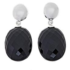 Sevilla Silver™ Black Onyx Drop Earrings