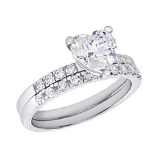 Sevilla Silver™ Diamond-Accented Band Ring
