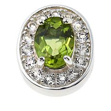 Sevilla Silver™ Peridot Interchangeable Magnetic Station