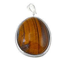 Sevilla Silver™ Tiger's Eye Enhancer Pendant