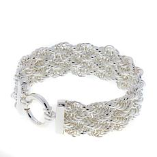 Sevilla Silver™ Twisted Rope Chain Bracelet