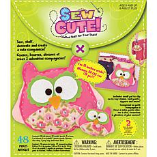 Sew Cute Craft Box Kit - 2 Owls