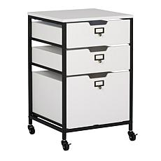 Sew Ready Mobile 3-Drawer Organizer Cart with Drawers
