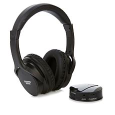 Sharper Image Own Zone™ DLX Wireless TV Headphones with Transmitter
