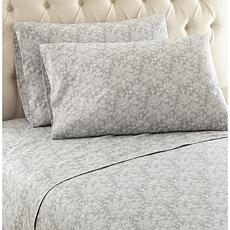 Shavel Home Micro Flannel Print Sheet Set - Twin