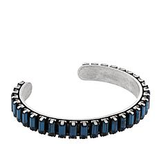 "Shelly Brown ""Alexandria"" Baguette Crystal Bracelet"