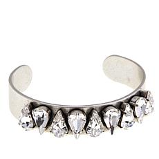 """Shelly Brown """"Angie"""" Pear Crystal Bracelet"""