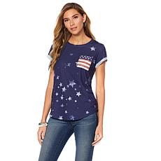 Sheryl Crow Americana Tee with Pocket