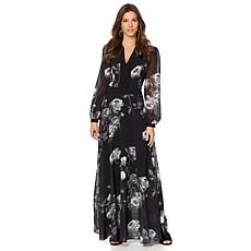 Sheryl Crow Floral Print Maxi Dress