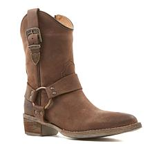 Sheryl Crow Porter Leather Mid-Calf Boot